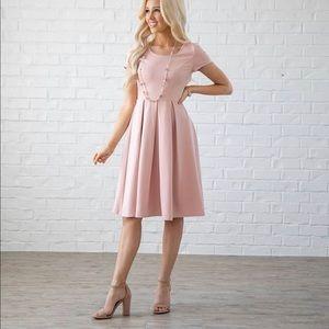 JenClothing Modest Bridesmaid Dress